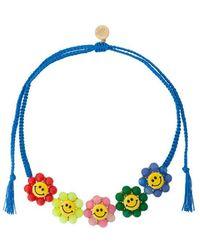 Venessa Arizaga - Smiley Flowers Necklace - Lyst