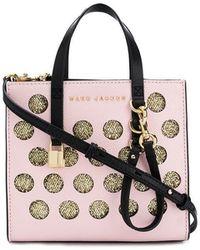60d097cee304 Lyst - Dolce   Gabbana Embellished Polka-dot Sicily Bag in Black