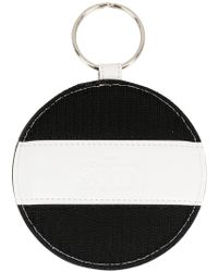 MM6 by Maison Martin Margiela - Geometric Detail Keyring - Lyst