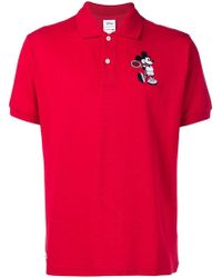 Lacoste - Mickey Mouse Polo Shirt - Lyst