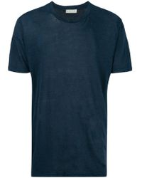 Etro - Classic Round Neck T-shirt - Lyst