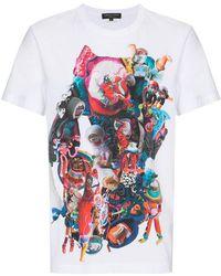 Comme des Garçons - Mona Luison Print T-shirt - Lyst