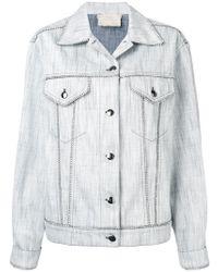 Marco De Vincenzo - Classic Denim Jacket - Lyst