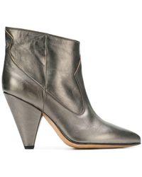 Buttero - Mettalic Ankle Boots - Lyst