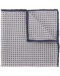 Eleventy - Polka Dot Pocket Square - Lyst