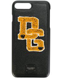Dolce & Gabbana - Iphone 7 Plus Logo Patch Case - Lyst