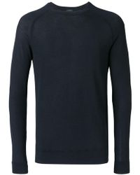 Zanone - Lightweight Sweatshirt - Lyst