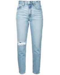 Nobody Denim - 'Bessette' Cropped-Jeans - Lyst