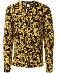 Versace - Pyjamaoberteil mit barockem Print - Lyst