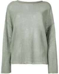 Ralph Lauren - Long-sleeve Fitted Jumper - Lyst