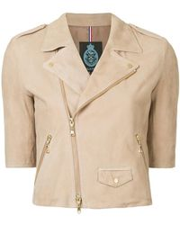 Guild Prime - Short-sleeve Biker Jacket - Lyst