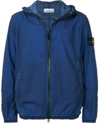 3072e7e42c3a6 Stone Island Alligator Camouflage Print Jacket in Green for Men - Lyst