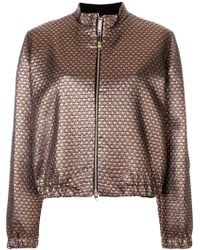 Ultrachic - Star Patterned Bomber Jacket - Lyst
