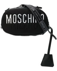 Moschino - Logo Plaque Belt Bag - Lyst