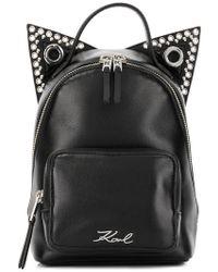 Karl Lagerfeld - Rocky Choupette Backpack - Lyst