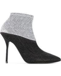 Pierre Hardy - Metallic Ankle Boots - Lyst