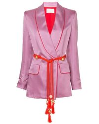 Peter Pilotto - Belted Fitted Jacket - Lyst