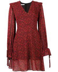 Philosophy Di Lorenzo Serafini - Floral Print Dress - Lyst