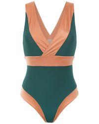 Brigitte Bardot - Panelled Swimsuit - Lyst