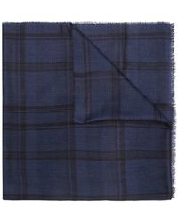 Lanvin - Checked Scarf - Lyst