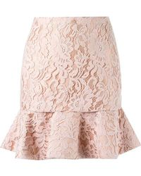 Martha Medeiros - High Waist Lace Skirt - Lyst