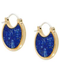 Pamela Love - Mojave Lazuli Lapis Earrings - Lyst