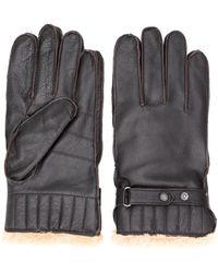 Barbour - Handschuhe mit Faux-Fur-Futter - Lyst