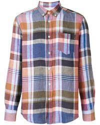Missoni - Plaid Shirt - Lyst