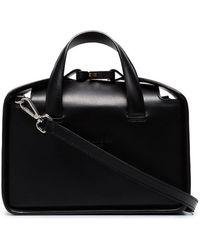 87811c9c13bb 1017 ALYX 9SM - Black Brie Dual Strap Leather Shoulder Bag - Lyst