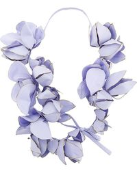 Marni - Oversized Floral Necklace - Lyst