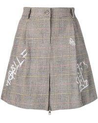 Gaëlle Bonheur - Check Mini Skirt - Lyst