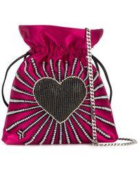 Les Petits Joueurs - Trilly Heart Cupid Bag - Lyst