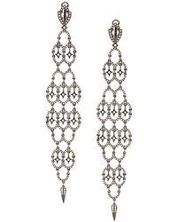 Loree Rodkin - Diamond Chandelier Earrings - Lyst