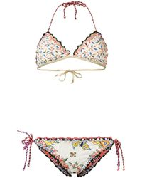 Anjuna - Olivia Reversible Floral Bikini - Lyst