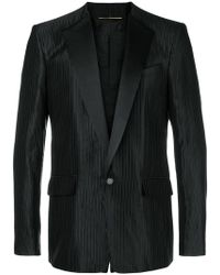 Givenchy - Striped Smoking Jacket - Lyst