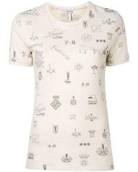 Loewe - Logo T Shirt - Lyst