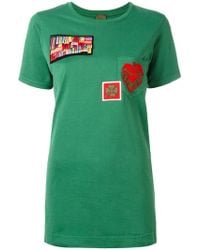 Mr & Mrs Italy - Multipatch T-shirt - Lyst