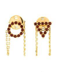Eshvi - 'january' Earrings - Lyst