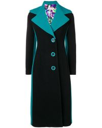 Emilio Pucci - Buttoned Long Coat - Lyst