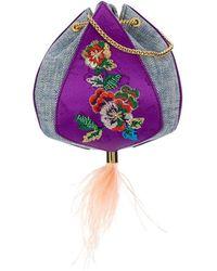 the VOLON - Cindy Flower Bag - Lyst