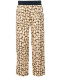 Roseanna - Floral Print Cropped Trousers - Lyst