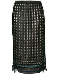 Marco De Vincenzo - Gonna Pencil Skirt - Lyst