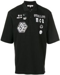 McQ - Embroidered Appliqué Polo Shirt - Lyst