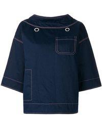 Marni - Flared Loose Sweatshirt - Lyst