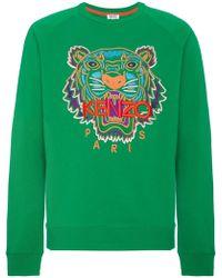 KENZO | Tiger Motif Sweatshirt | Lyst