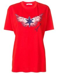 Givenchy - Star Flame Printed T-shirt - Lyst