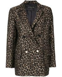 Mother Of Pearl - Leopard Print Blazer - Lyst