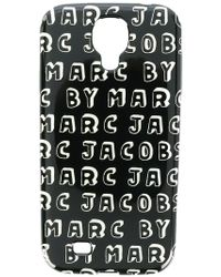 Marc By Marc Jacobs - Logo Print Samsung Galaxy S4 Case - Lyst