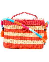 Nannacay | Stripe Panel Shoulder Bag | Lyst