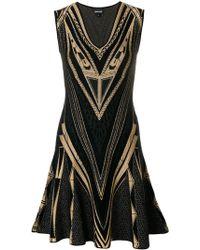 Just Cavalli - Intarsia-knit Dress - Lyst